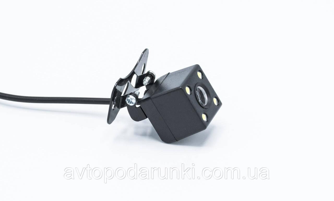 Камера заднего вида HD-102 \ КУБИК с подсветкой \ Динамическая розметка