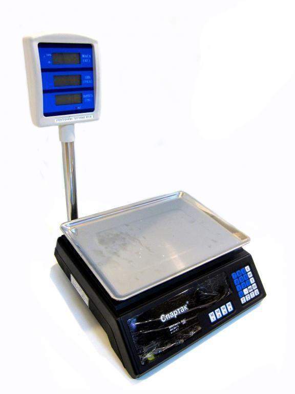 Торговые электронные весы до 50 кг MS-308 со стойкой