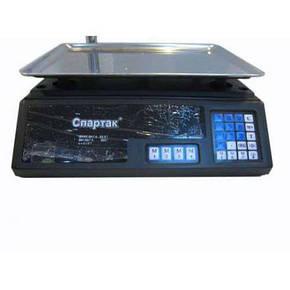 Торговые электронные весы до 50 кг MS-308 со стойкой, фото 2
