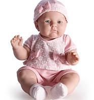 Большая новорожденная кукла девочка Lily, 46 см в розовом наряде, Berenguer