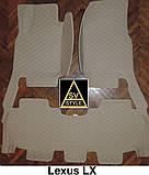 Килимки для INFINITI QX 56 Шкіряні 3D (2002-2013), фото 5