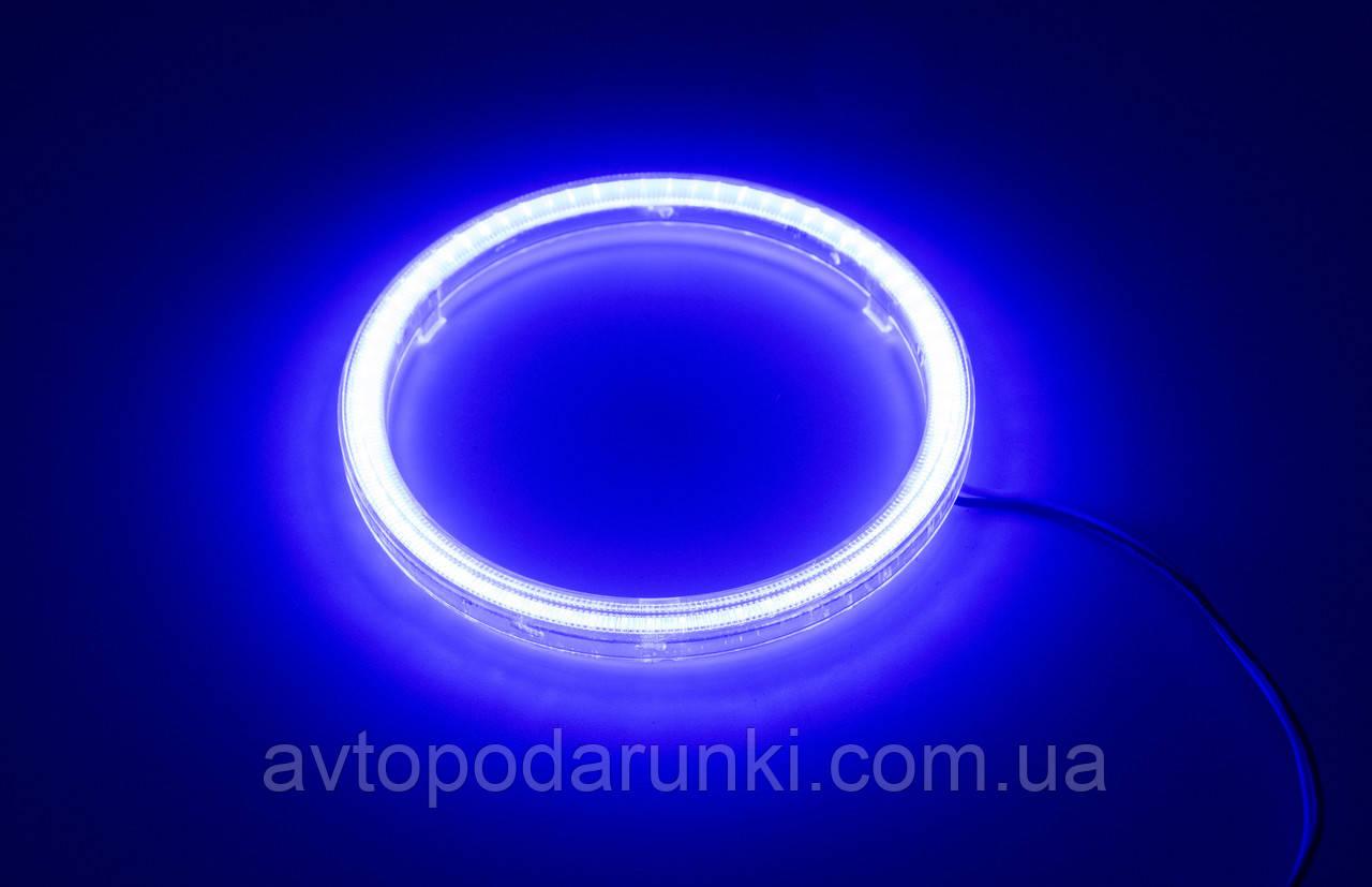 Светодиодные ангельские глазки 120 (108мм/123мм) / Синий