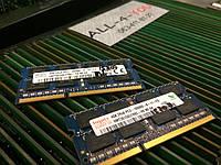 Оперативная память HYNIX DDR3 4GB  PC3 10600S SO-DIMM 1333mHz Intel/AMD