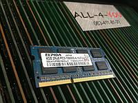 Оперативная память Elpida DDR3 4GB  PC3 10600S SO-DIMM  1333mHz Intel/AMD