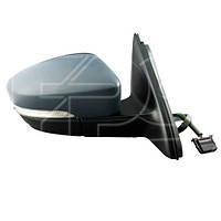 Зеркало правое VW JETTA 6 14- электрическое обогрев. выпукл. 7 pin +ук. пов. -подсвет eu (FPS). FP7435M08