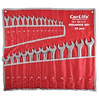 Набор ключей комбирированных CARLIFE WR4226
