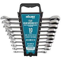 Набор ключей рожково-накидных Molder MT56110