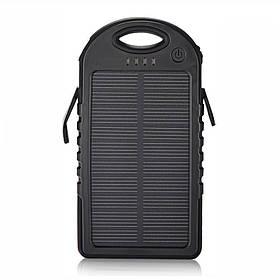 Power Bank Solar S 30000 mAH Original с солнечными батареями Черный (RI0266)