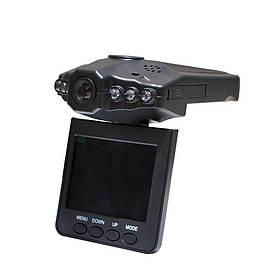Видеорегистратор DVR H198 с поворотным экраном Черный (R0303)