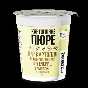 Картофельное пюре с шампиньонами и зеленью Cryovit 50 г (0003)