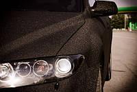 Пленка алмазная крошка матовая черная 152 см
