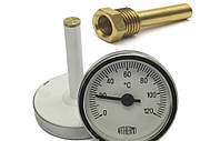 Термометр с погружной гильзой ARTHERMO 0-120°C, фото 1