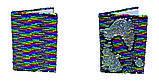 Блокнот А5, 80 арк., клет., Паєтки, фото 3