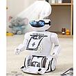 Электронная Копилка сейф Robot PIGGY BANK с кодовым замком, фонарем и музыкой, фото 5
