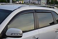 Дефлекторы стекол Kia Sorento (XM) 2009 (Киа соренто) Cobra Tuning