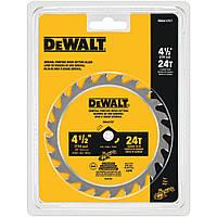 Пильный диск по дереву DeWALT DWA412TCT 115*9,5*24T