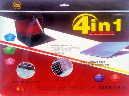 "Защитная пленка для ноутбука 4 в 1 15,6"", антибликовая пленка для монитора, защитная пленка 15.6, фото 2"
