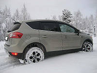 Дефлекторы окон Ford Kuga 2008-2012 (Форд Куга) Cobra Tuning