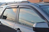 Дефлекторы стекол Kia Sportage II 2004-2010 (Киа спортейдж) Cobra Tuning