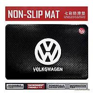 Антискользящий коврик в машину Anti-Slip Pad Volkswagen Black