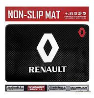 Антискользящий коврик в машину Anti-Slip Pad Renault Black
