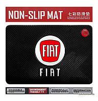 Антискользящий коврик в машину Anti-Slip Pad FIAT Black