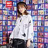 Хлопковая женская рубашка стильная 44-50 (в расцветках), фото 3