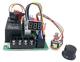 Контролер ШІМ. Управління швидкістю двигуна постійного струму з регулюванням 10-55В 60А
