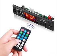 Встраиваемый MP3 плеер, FM модуль USB microSD,Bluetooth 12В