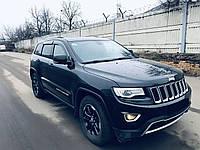 """Боковые дефлекторы Jeep Grand Cherokee 2013 деф.окон """"CT"""""""