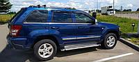 "Боковые дефлекторы Jeep Grand Cherokee III (WK) 2005-2010 деф.окон ""CT"""