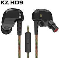 Наушники KZ HD9 Hi-Fi Sport Медь Драйвер Микрофон Линейный Контроль
