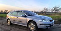 Дефлекторы окон Renault Laguna II Grandtour 2001-2007 (Рено Лагуна) Cobra Tuning