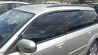 Дефлекторы боковых стекол Subaru Outback III/Legacy Wagon 2004-2009 (Субару аутбек 3) Cobra Tuning