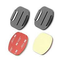 Набор плоских и изогнутых креплений AIRON AC09 для экшн-камер (6947791550015) КОД: 6947791550015