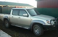 Дефлекторы стекол Mazda BT-50 2007 (Мазда бт 50) Cobra Tuning