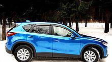 Дефлекторы стекол Mazda CX5 2011 (Мазда сх5) Cobra Tuning