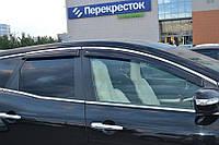 Дефлекторы стекол Mazda CX7 2006-2012 (Мазда сх7) Cobra Tuning