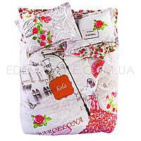 Постельное белье Karaca Home 200х220 ранфорс Barcelona 50х70-2шт, Розовый