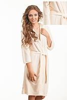 Бамбуковый халат с капюшоном  Boncasa Hoody размер S