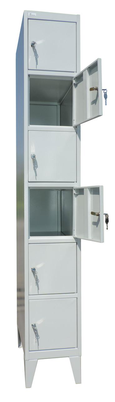 Шкаф ячеечный металлический ТМ Ferocon ЯШМ-13-01-03х18х05-7035