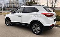 """Боковые дефлекторы Hyundai Creta 5d 2016 деф.окон """"CT"""""""