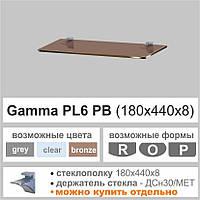 Полка из стекла Сommus PL6 PB