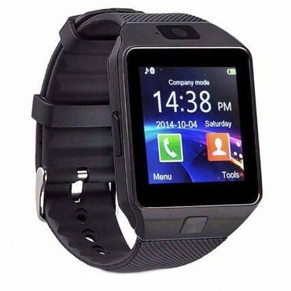 Умные часы Smart Watch GSM Camera DZ09 Black, фото 2