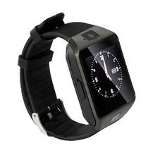 Умные часы Smart Watch GSM Camera DZ09 Black, фото 3