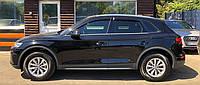 """Ветровики Audi Q5 5d 2017 деф.окон """"CT"""""""