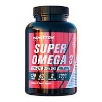 Супер Омега-3 №120 капсул ТМ Ванситон / Vansiton