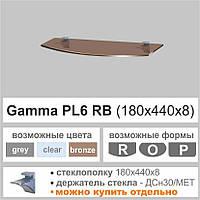 Полка из стекла Сommus PL6 RB