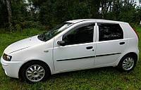 Дефлекторы окон Fiat Punto II Hb 5d 1999-2003 (Фиат Пунто) Cobra Tuning