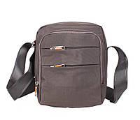 Удобная и стильная сумка для мужчин Nobol M6339-2GREY Серая
